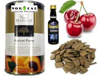 Beer and wine oak chips, extracts, flavorings, puree at NorCal Brewing Solutions