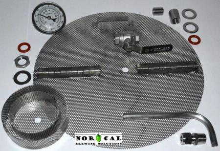 Conversion Kit - Keg / Keggle to Ultimate Boil Kettle - Weldless