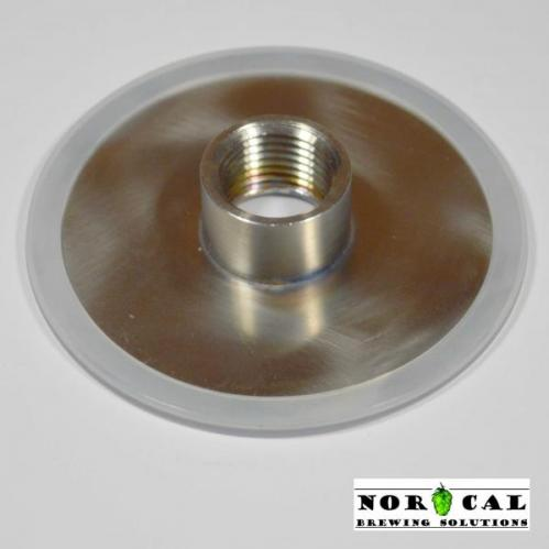Ball, Kerr, Mason wide mouth canning jar stainless steel lid Half coupling
