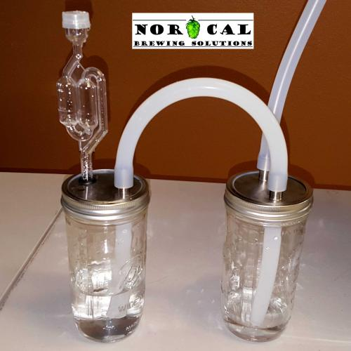 Ball, Kerr, Mason canning jar CO2 Harvester Kit