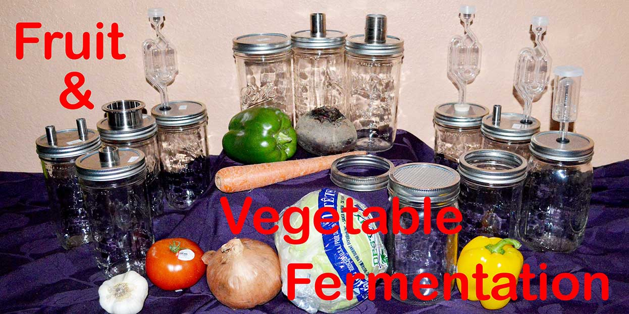 Vegetable and Fruit Fermentation Products and Accessories