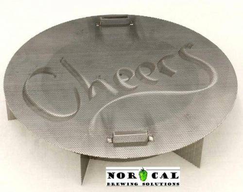 Bubbas Barrels 55 Gallon Drum False Bottom with non-integrated 4 inch stand