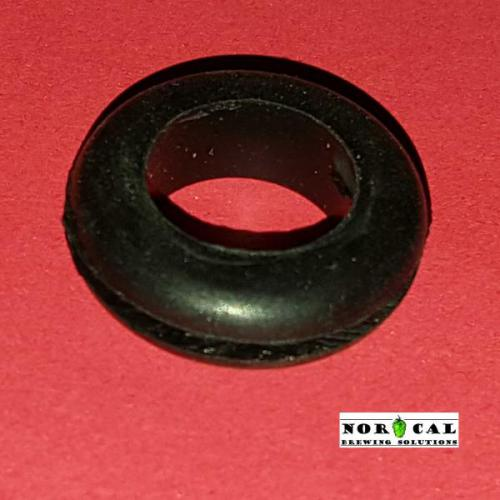 Rubber Grommet used with Airlocks, Jaybird Speidel and Canning Jar products