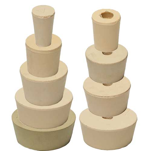 Stopper Bung #0 Solid Food Grade Rubber