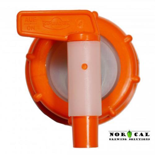 Speidel Fermenter OEM Plastic Spigot - Front View