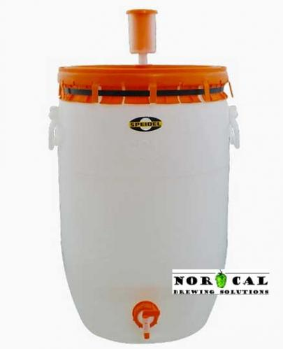 Speidel 60 liter (15.9 gallon) food grade plastic fermenter