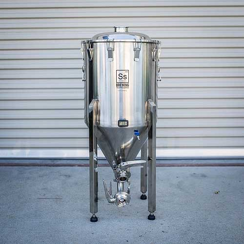 Ss Brewing Technologies Brewmaster 1/2 Barrel Chronical Conical Fermenter