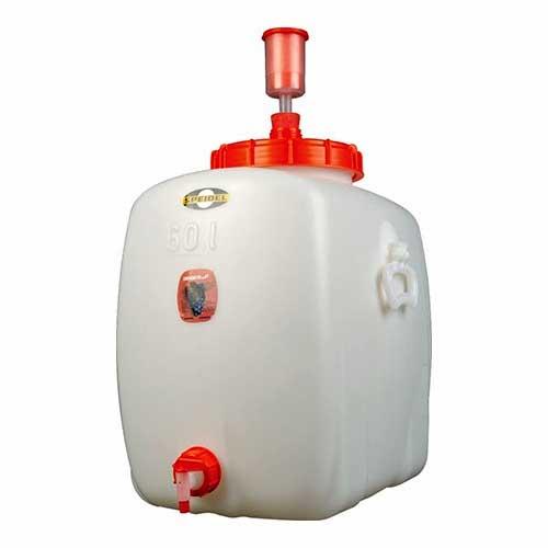 Speidel 60 liter (15.9 gallon) food grade HPDE plastic fermenter, storage tank