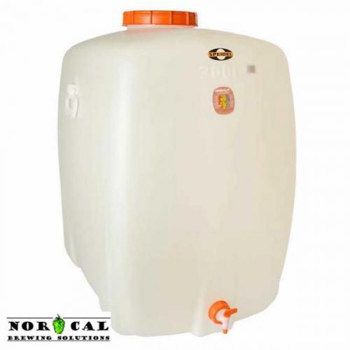 Speidel 300 liter (79.3 gallon) food grade HPDE plastic fermenter, storage tank