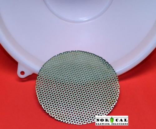 Stainless Steel Perforated Disc Insert for 12 Inch Nylon Funnels