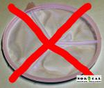 Stainless Steel Perforated Disc Insert for 12 Inch Nylon Funnels x Vinyl Insert