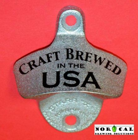 Bottle Opener - Starr X - Wall Mount - Metal - Craft Brewed in the USA