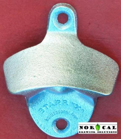 Bottle Opener - Starr X - Wall Mount - Metal - Plain Face
