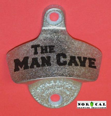 Bottle Opener - Starr X - Wall Mount - Metal - The Man Cave