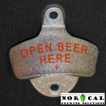 Bottle Opener - Starr X - Wall Mount - Metal - Open Beer Here