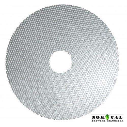 Perf Disc - 7.6 Inch with 1.375 Inch Center Hole - Used in Jaybird Lees Filters
