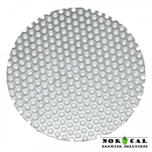Stainless Steel Perforated Disc Insert for 3 Inch Tri Clover Clamp Items