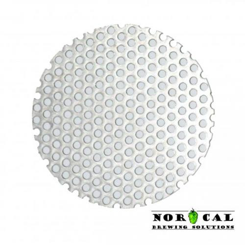 2.375 Inch Perforated Disc for Jaybird Wide Mouth Canning Jar Items