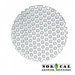 Stainless Steel Perforated Disc Insert for 2 Inch Tri Clover Clamp Items