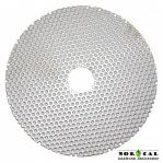 Perf Disc - 5 Inch, 7/8 Inch Center Hole - Used in Jaybird Wine Cap Punch Down Tools