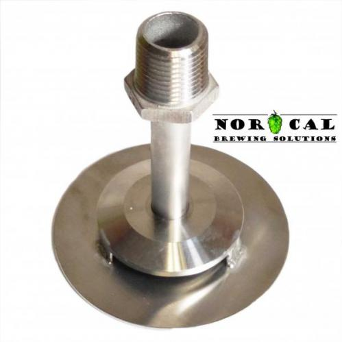 Stainless Steel Sparge Diffusion Plate with half inch Male NPT connection