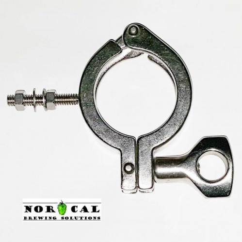 304 Stainless Steel 1.5 Inch Tri Clover RIMS Tube Clamp