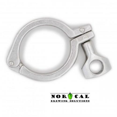 Jaybird Tri Clover, Tri Clamp 2 inch 304 stainless steel