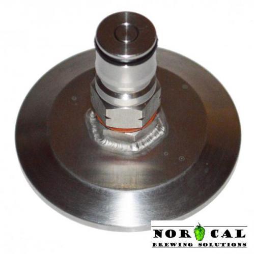 Cornelius Corny Ball Lock Gas In 1.5 inch Tri Clover