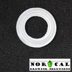 Tri Clover Silicone gasket .75 Inch Silicone