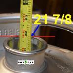 How to Measure Keg Depth from Keg Neck for Downcomer Length