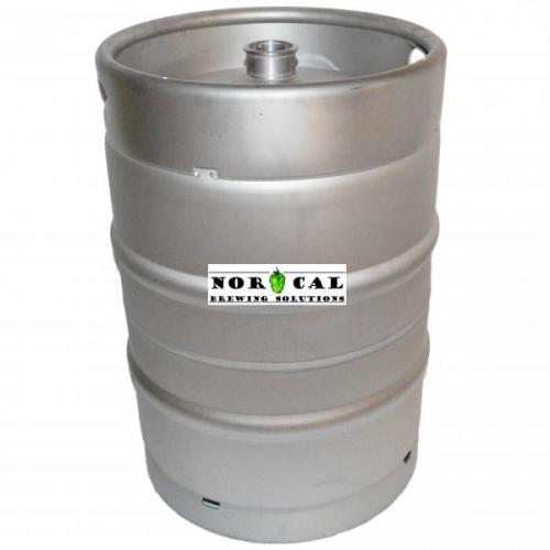 Brand New Half Barrel Tri Clover Sanke Keg Ready for Modifications