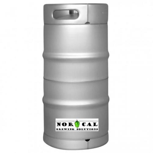 Brand New 1/6 Barrel Tri Clover Sanke Keg Ready for Modifications