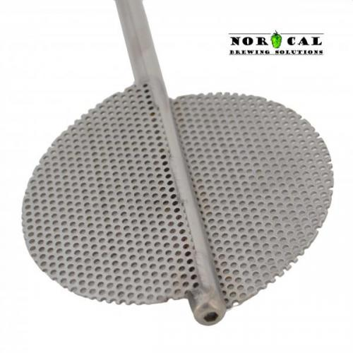 Jaybird Beer Brewing Extreme Twin Blade Mash Paddle Blade End
