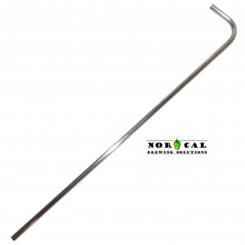 1/2 Inch Diameter 304 Stainless Steel Standard Racking Cane