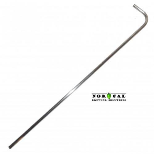 1/2 Inch Diameter 304 Stainless Steel Standard Racking Cane for Barrels