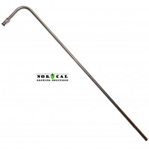 1/2 Inch Diameter 304 Stainless Steel Racking Cane Liquid Out Ball Lock for Speidel 120L