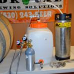 Jaybird Speidel Plastic Tank Gas Pushed Transfer System, CO2 Tank, Keg