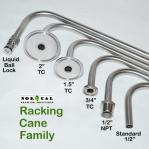 NorCal Brewing Solutions Stainless Steel Racking Cane Family